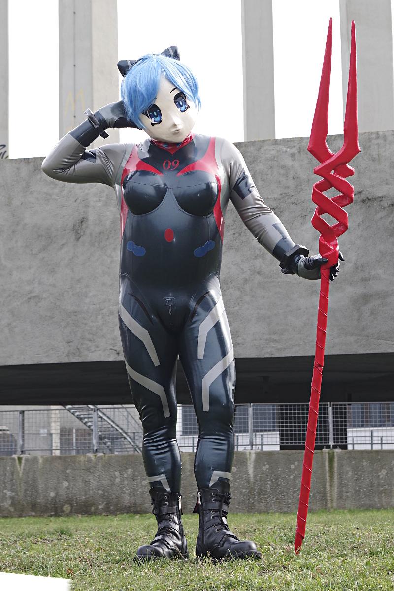 Rei Ayanami Number 9 Kig