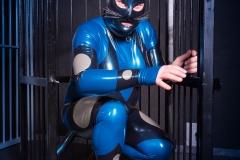 Spacegirl , mein dritter Fantastic Rubber Anzug