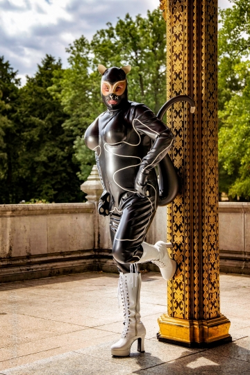 Latexshooting Blickachsen Bad Homburg am 16.06.2015
