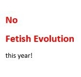 No FetishEvolution 2018