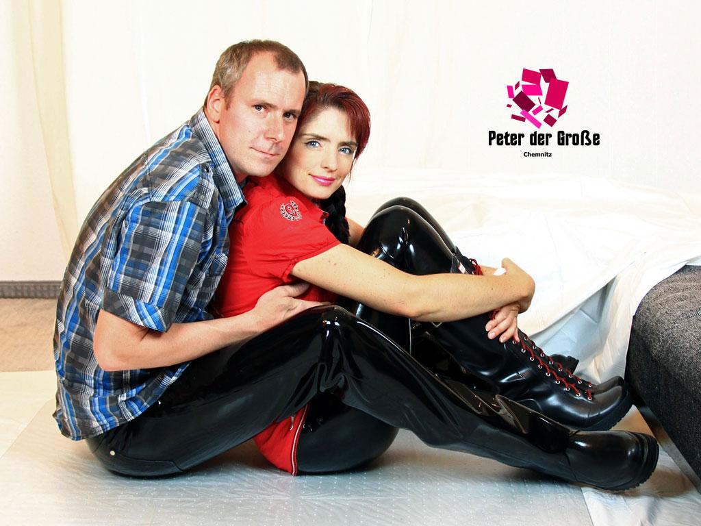 Peter der Grosse und Sandra