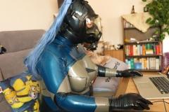 Katzentatze am Computer 1