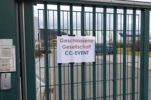 Erlebnisbergwerk Sondershausen, geschlossene Veranstaltung