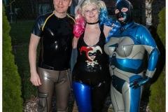 mit Dana Maus und Carsten auf der Party