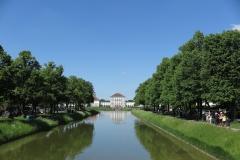 Schloss Nymphenburg von weitem