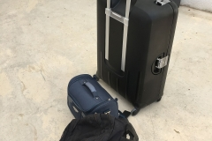 Koffer im Hof