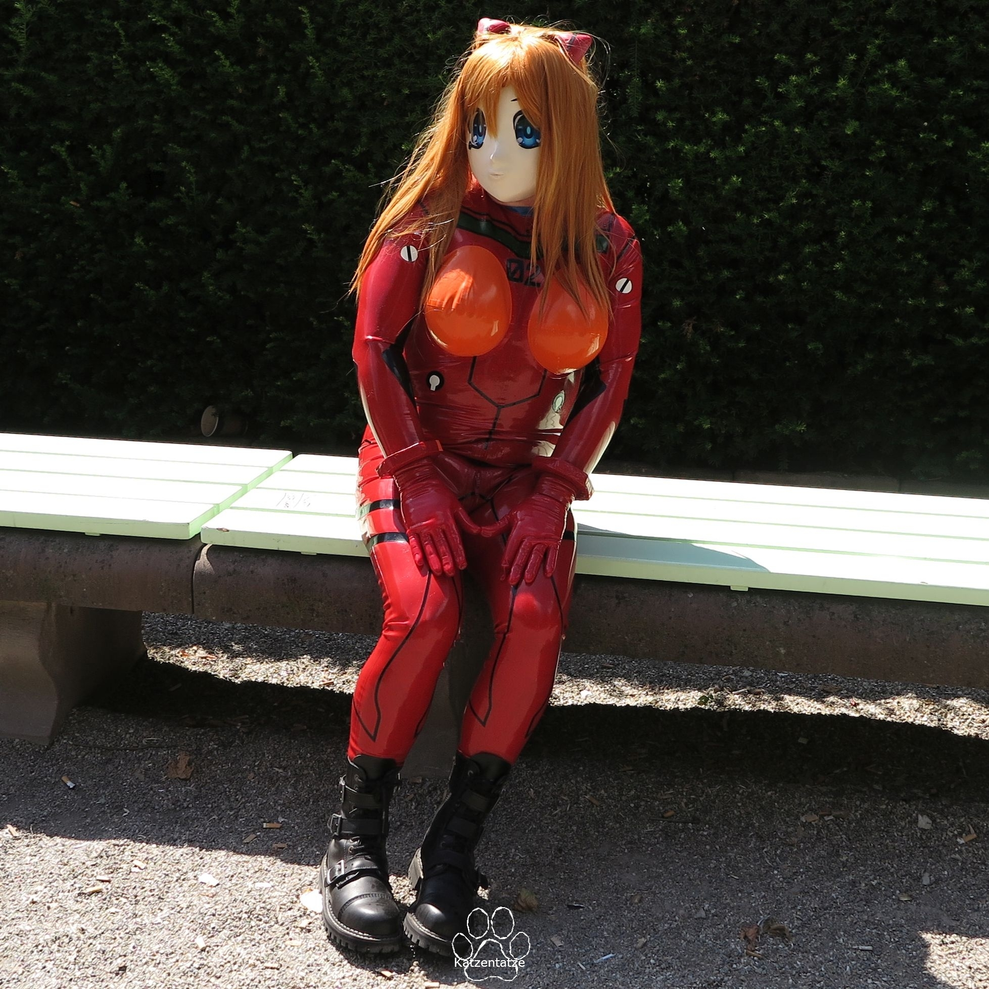 W5-Asuka muss sich auch mal ausruhen