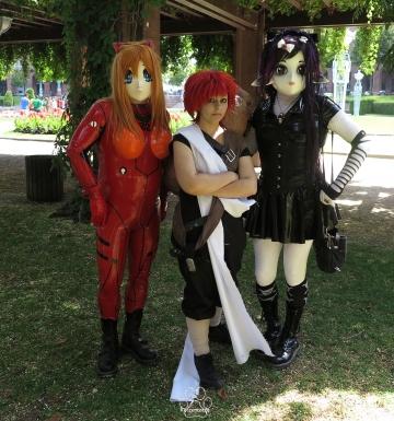 Yuki, Asuka und eine Nette