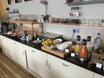 Frühstück im Designhotel Kamen