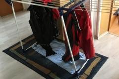 Waschtag zu Hause