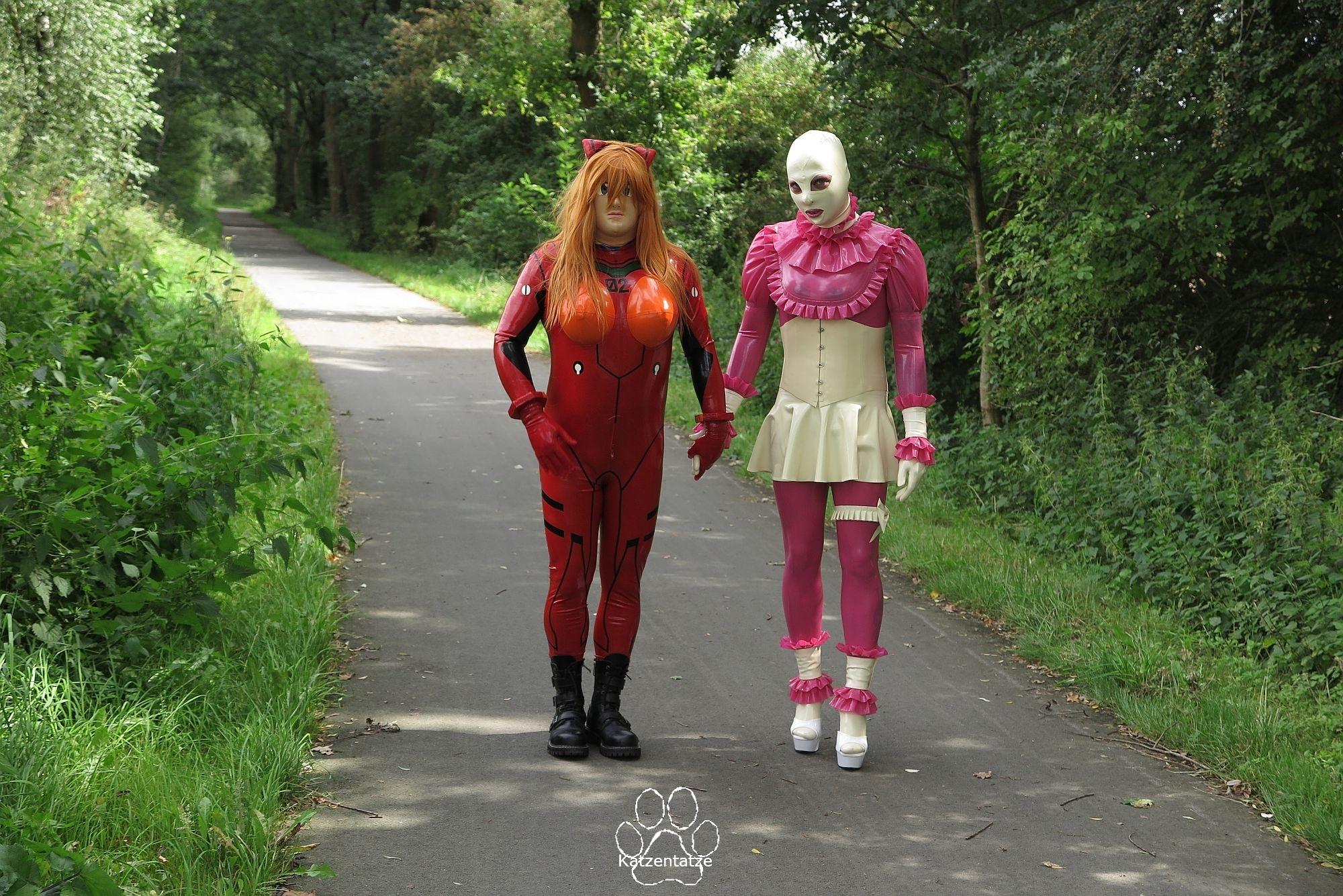 Asuka Langley Sohryu und Josie