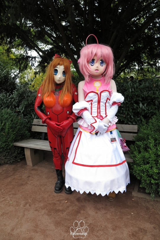 Asuka und Millhiore Firianno
