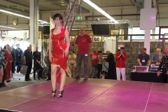 llde Saxe Latex Modenshow mit Maria Katharina