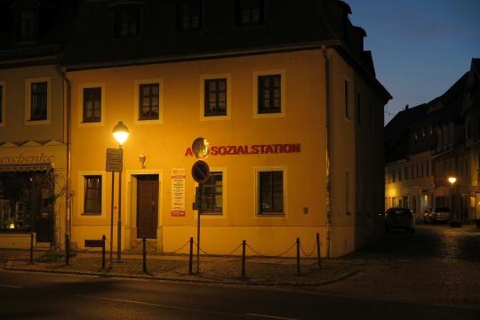 die A-Sozialstation von Nossen