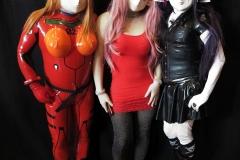 Yuki, Trisha und Asuka