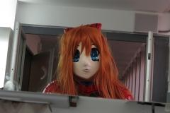 Asuka im Spiegel