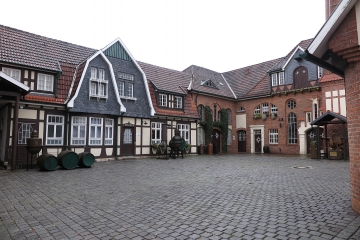 Bilder Innenhof Brennerei