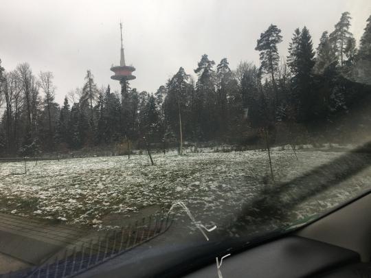 der erste Schnee 2017