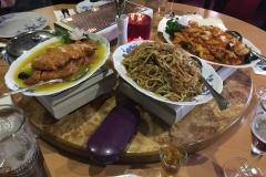 Mittagessen im Shanghai