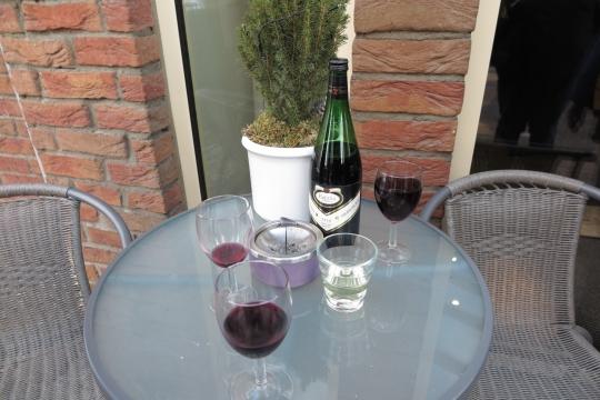 Rotwein-Start