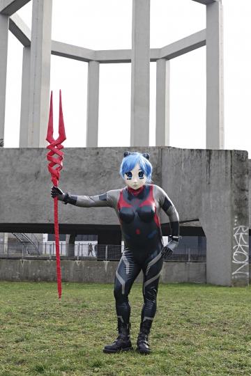 Rei Ayanami Number 9 Outdoor