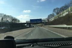 auf der Hinfahrt bei Köln