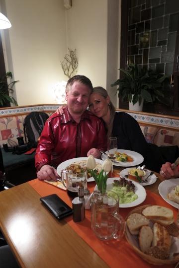 Rubmario Riedmann und Lady Madelaine