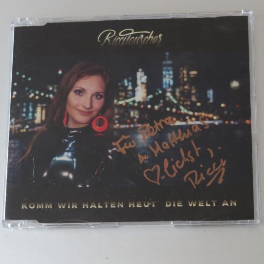 Ricci Tauscher CD mit Widmung