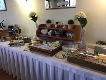 Frühstück im Hotel Stadt Dresden in Nossen