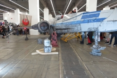 in den Messehallen, X-Wing von Starwars