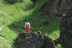 Hana on vulcano