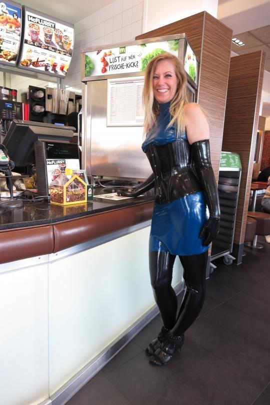 Robin Lattrich bei McDonald