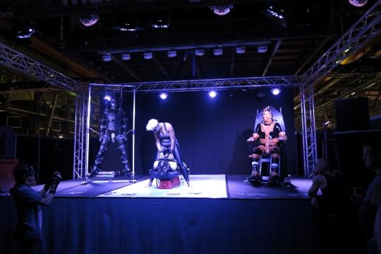Bild von der Bühne