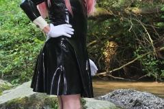 Yuki Yakushi im Wasser