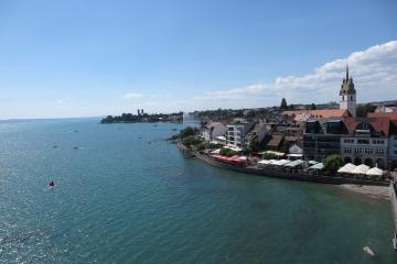 Blick über Friedrichshafen