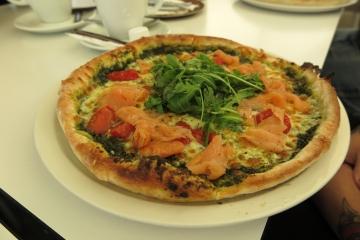 Pizza zum Abendbrot