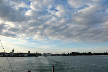 Abschied von Friedrichshafen