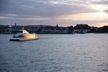 Hafeneinfahrt von Konstanz