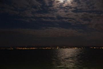 Mondschein über Bodensee