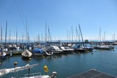 am Hafen in Freidrichshafen