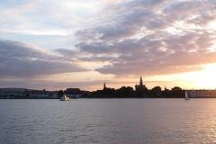 Abendstimmung bei Konstanz