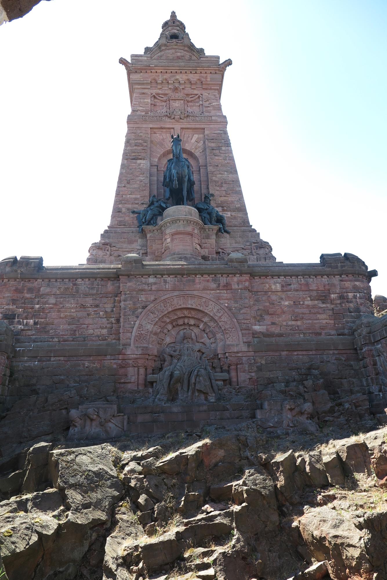 Kyffhäuserdenkmal mit Barbarossa
