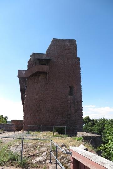 Barbarossaturm mit Scheisserker