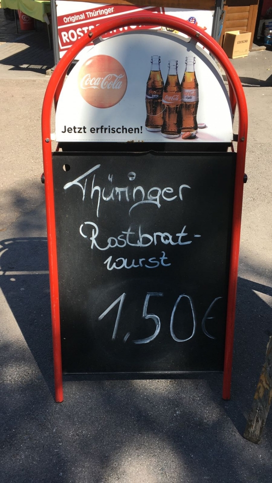 Thüringer Rostbratwurst