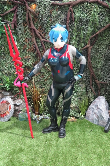Rei Ayanami am Fotopoint