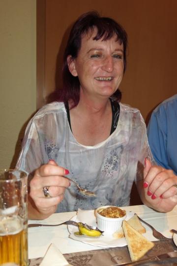 Susi schmeckt ihr Würzfleisch auch