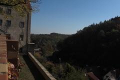 Ausblick von Schloss Nossen