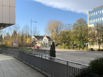 vor dem Feringapark Hotel