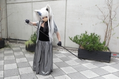 Yukico mit Schwert