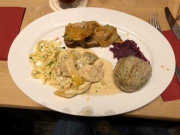 Essen im Brauhaus
